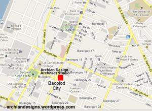 Bacolod CBD Map