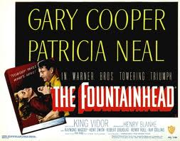 Fountainhead, Gary Cooper and Patricia Neal