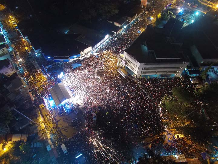 Biggest Crowds of Duterte Supporters